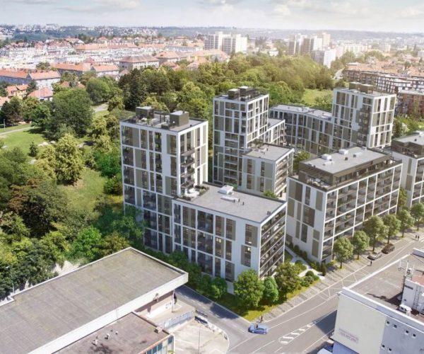 Moderní a pohodlné bydlení vPraze? Osloví vás nové rezidenční objekty na Žižkově