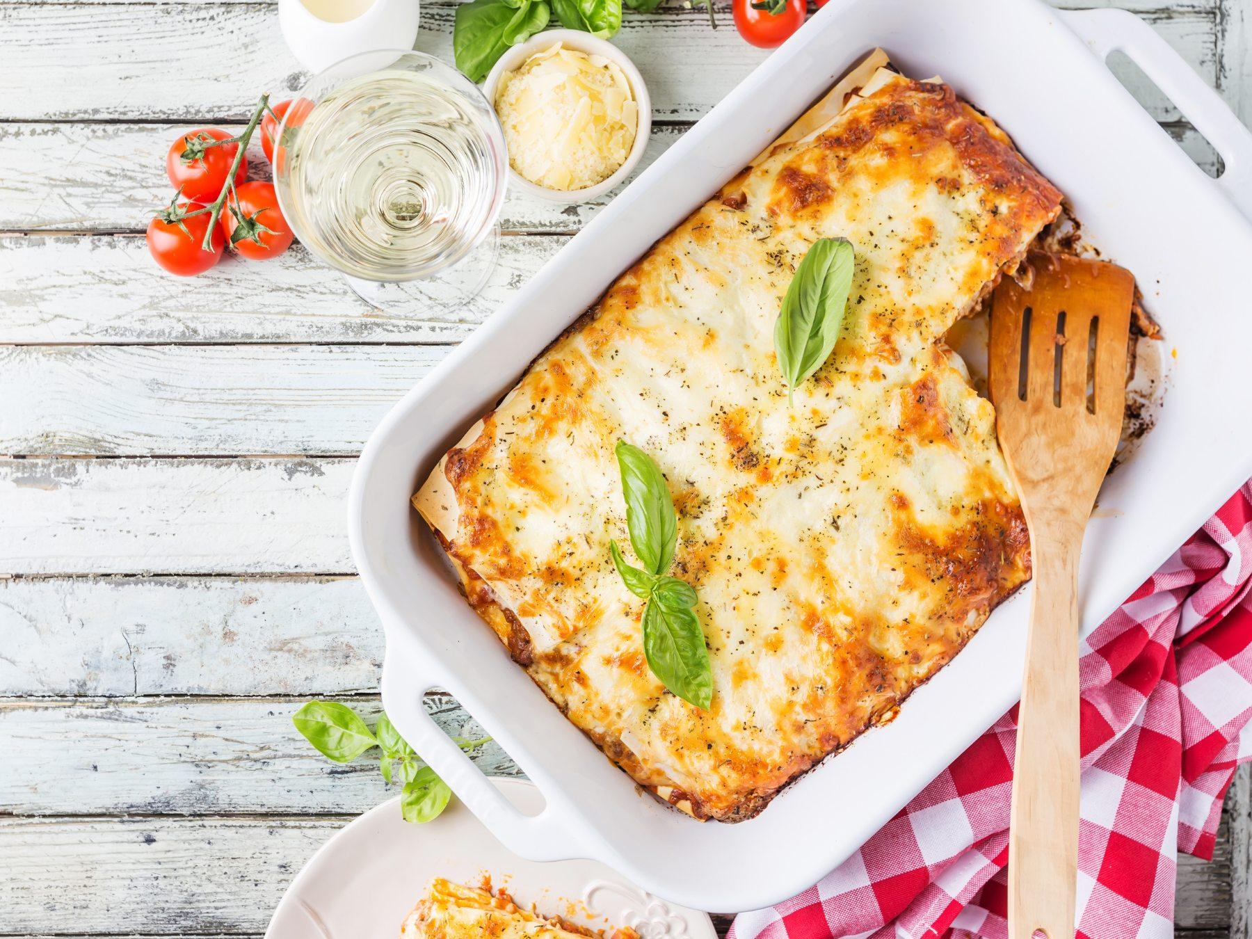 Vychutnejte si lasagne aneb představuje se klasický italský recept